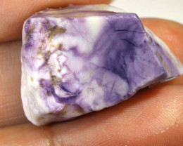 35.9 CTS OPAL FLUORITE ROUGH 'TIFFANY STONE  DT-8007