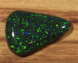 3.60ct  - GREEN Play-  Andamooka Matrix opal [21383]