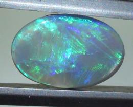 1.15 ct Blue Green Lightning Ridge Crystal
