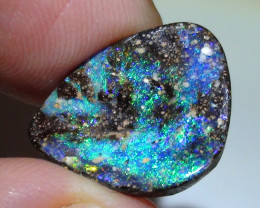 8.60 ct Gem Blue Green Color Queensland Boulder Opal