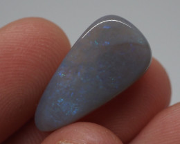 6.18CT Dark Crystal Opal Lightning Ridge