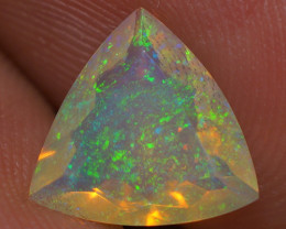 1.25 CT Top Quality Welo  Ethiopian Faceted Opal -EBF199