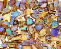 350ct Natural Boulder Pipe Opal Rough Parcel [BRP-077]