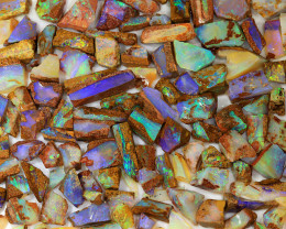 350ct Natural Boulder Pipe Opal Rough Parcel [BRP-078]
