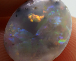 2.00CT SOLID SEMI BLACK LIGHTING RIDGE OPAL NN154