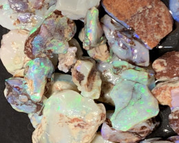 "165 CTs ""collection grade"", Solid/Natural Lightning Ridge Rough Opal, #165"