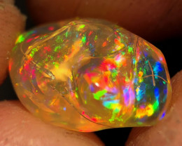 Mexican 5.660ct Crystal Opal (OM)(SPECIMEN)