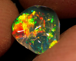 Pinfire + Rutile - Mexican 1.420ct Crystal Opal (OM)