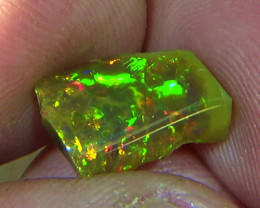 2.55 cts Ethiopian Welo PUZZLE CELLS brilliant dark opal N4 5/5
