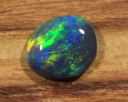 0.30ct - SUN SETS OVER PLUTO-Lightning Ridge Opal [21552]