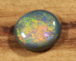 0.35ct -ORANGE IS THE NEW BLACK- Lightning Ridge Opal [21571]