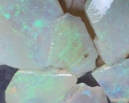 67 CTs Beautiful Cutters, Solid/Natural Lightning Ridge Opal Rough/Rub, #41