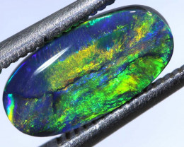 1.30 CTS QUALITY BLACK OPAL POLISHED STONE  INV-1278