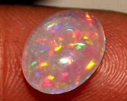 1.15 Crt Natural Ethiopian Welo Fire Opal Cabochon 16