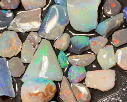 73 CTs Rubs; Lightning Ridge Opal Rubs,#426