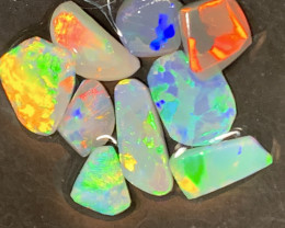 8.5 CTs TOP GEM; Lightning Ridge Top grade Opal Rubs,#431