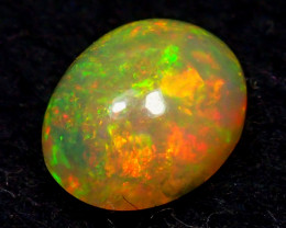1.27CT  RED GREEN BROAD FLASH MIST ETHIOPIAN WELO OPAL - ZA148