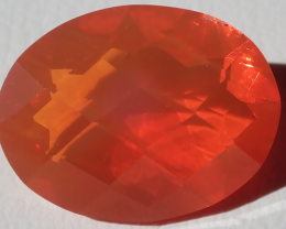 Facetted Fire Opal