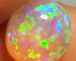 1.35CT  CRYSTAL OPAL FROM LIGHTNING RIDGE RE599