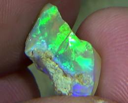 3.85 cts Ethiopian Welo FLASH crystal opal N9 4/5