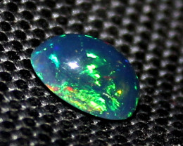 1.55 Crt Natural Ethiopian Welo Fire Smoked Opal Cabochon 171