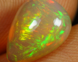 2.15cts Sparkle Iridescence Fire Natural Ethiopian Welo Opal