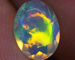 0.57 CT 8X6 MM Good Quality Faceted Cut Ethiopian Opal-EBF381