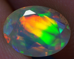 0.63 CT 8X6 MM Good Quality Faceted Cut Ethiopian Opal-EBF382
