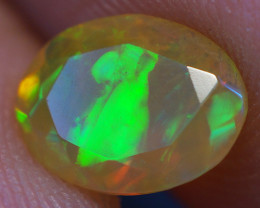 0.70 CT 8X6 MM Good Quality Faceted Cut Ethiopian Opal-EBF385