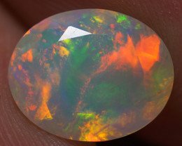 1.70 CT 10X8 MM Good Quality Faceted Cut Ethiopian Opal-EBF398