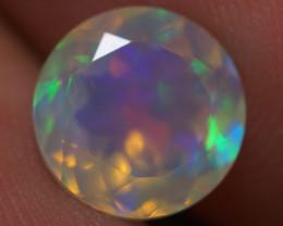 1.52 CT 8X8 MM Good Quality Faceted Cut Ethiopian Opal-EBF420