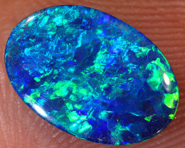 1.8ct 11x8mm Lightning Ridge Opal Doublet [PDO-209]