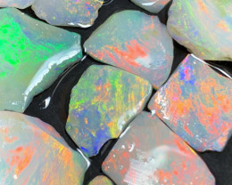 31Cts High End White Cliffs Rough Opals,#440