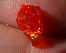 1.93 Cts Natural Opal Rough Mexican Fire Opal