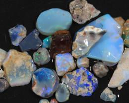 80ct Mixed Australian Craft Rough Opal[21617]