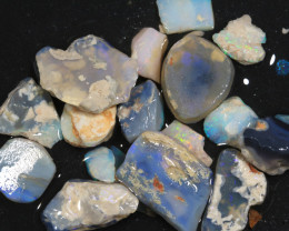 87ct Mixed Australian Craft Rough Opal[21619]