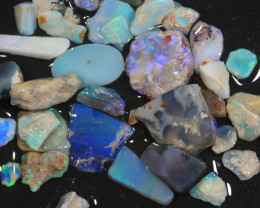 82ct Mixed Australian Craft Rough Opal[21621]