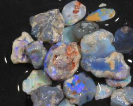 97ct Mixed Australian Craft Rough Opal[21628]