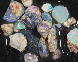 90ct Mixed Australian Craft Rough Opal[21637]