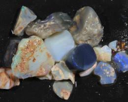90ct Mixed Australian Craft Rough Opal[21639]