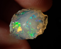 5.28ct Mexican Multicoloured Rough Fire Opal