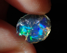 1.70ct Mexican  Multicoloured Rough Fire Opal