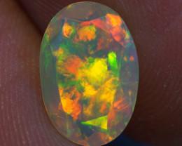 1.43 ct Good Quality Faceted Cut Ethiopian Opal-EBF429