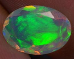 1.60 ct Good Quality Faceted Cut Ethiopian Opal-EBF430