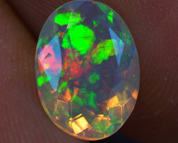 1.40 ct Top Quality Faceted Cut Ethiopian Opal-EBF431