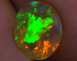 1.44 ct Good Quality Faceted Cut Ethiopian Opal-EBF434