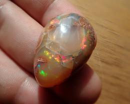 36.24 cts  Mexican Matrix Cantera Multicoloured Fire Opal