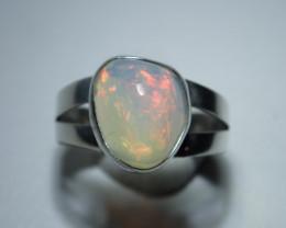 7 Sz Stearling .925 Blazing Welo Solid Opal