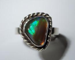 8 Sz Stearling .925 Blazing Welo Solid Opal