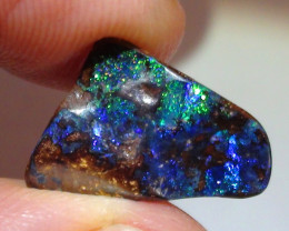 4.60 ct  Blue Green Color Queensland Boulder Opal